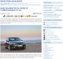 Skärmdump från GM Europe Social Media Newsroom